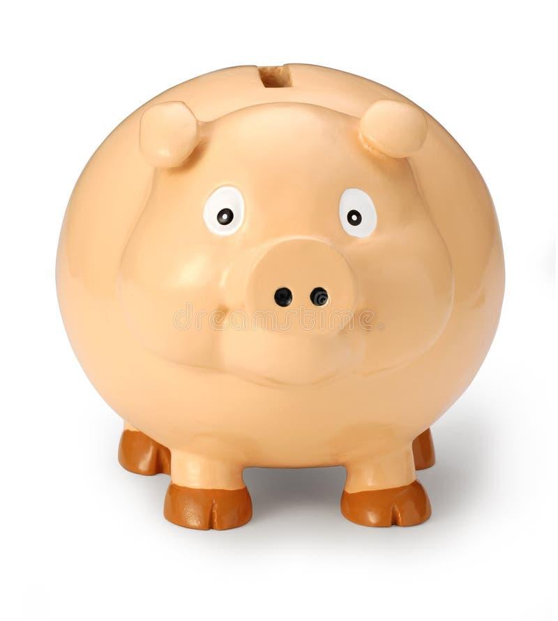 Fronte della Banca Piggy immagine stock