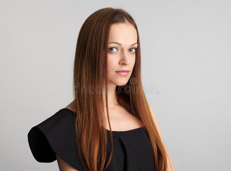 Fronte della donna di bellezza fotografie stock
