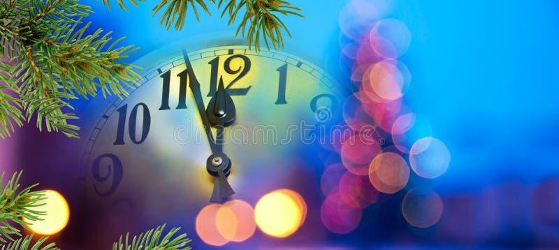 Fronte di orologio con gli aghi immagini stock libere da diritti