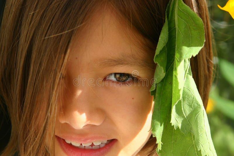 Download Fronte dolce immagine stock. Immagine di ragazze, felicità - 222343
