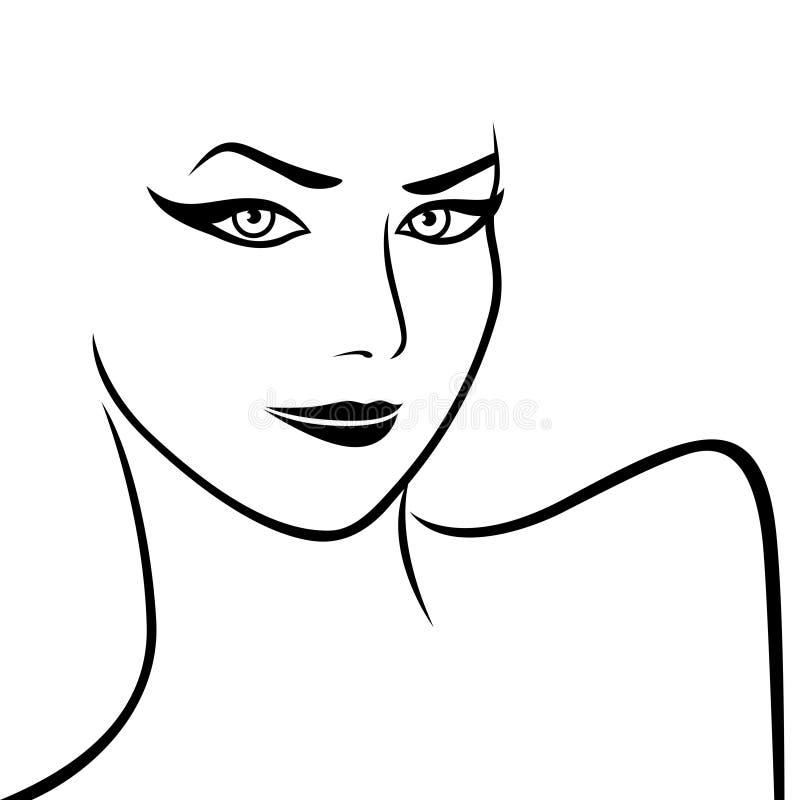 Download Fronte E Spalle Femminili Astratti Illustrazione Vettoriale - Illustrazione di carattere, femmina: 56889225
