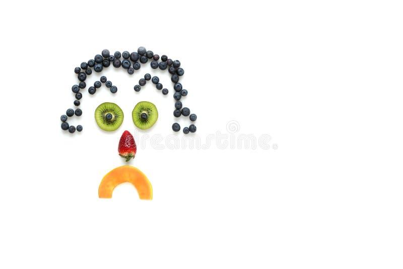 Download Fronte infelice fotografia stock. Immagine di infelice - 23453618