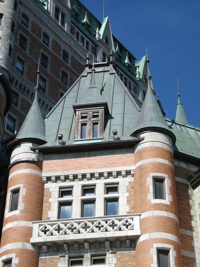 Download Frontenac del chateau fotografia stock. Immagine di palazzo - 7319884