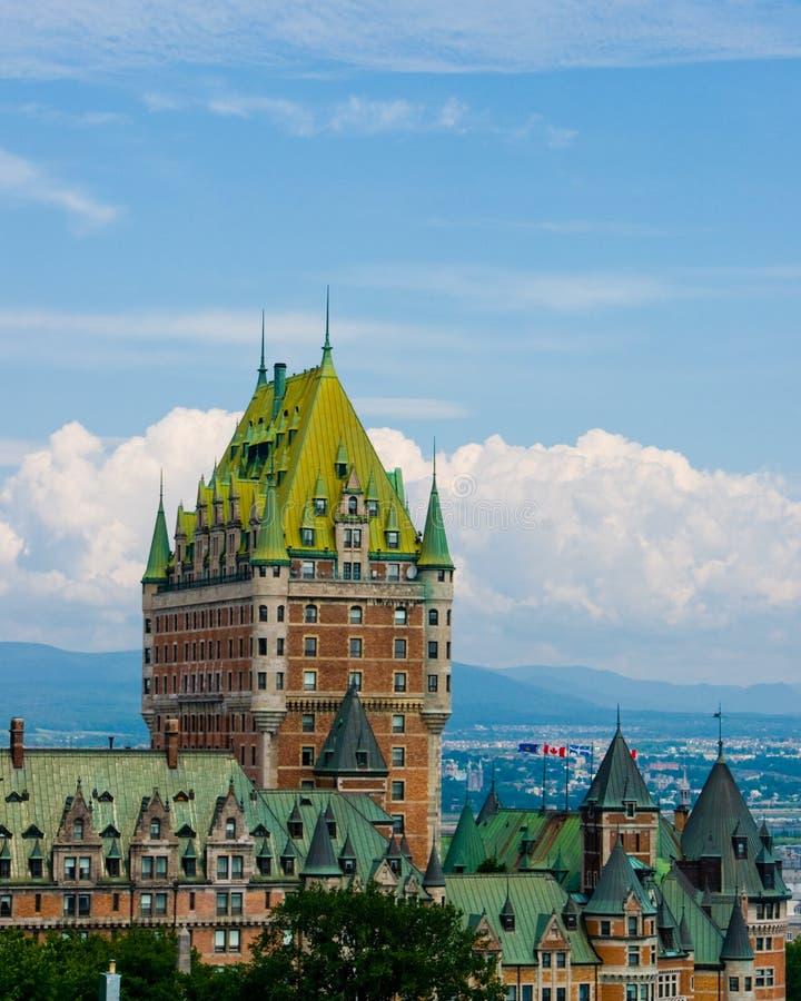 frontenac Québec de château image libre de droits
