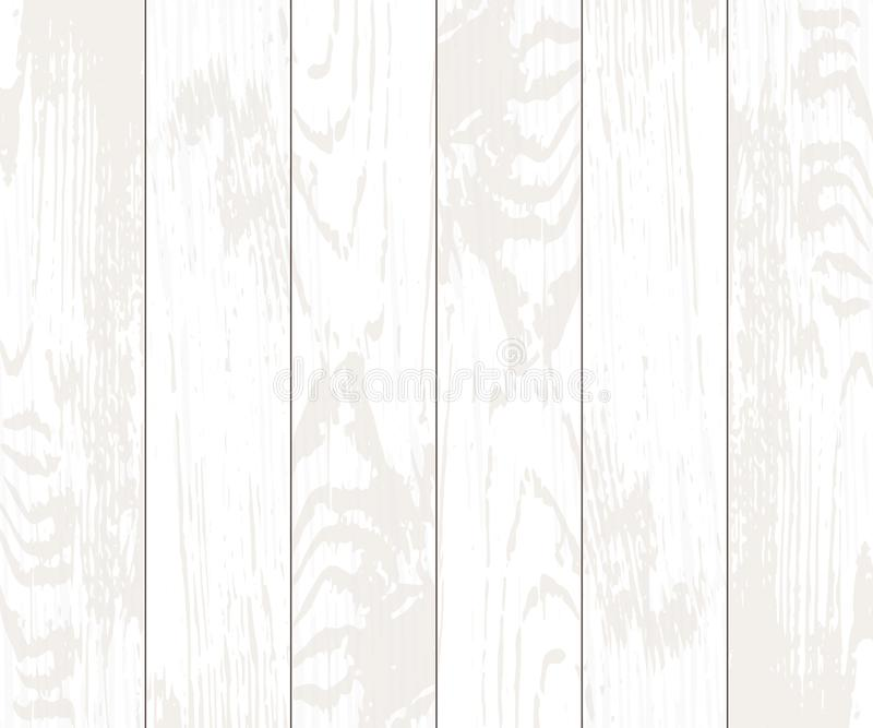 Frontera abstracta de la Navidad escritorio de madera blanco con el lugar para el texto, ejemplo del vector EPS10 stock de ilustración