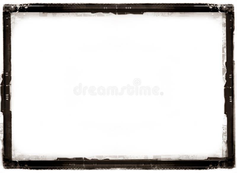 Frontera antigua de la foto stock de ilustración