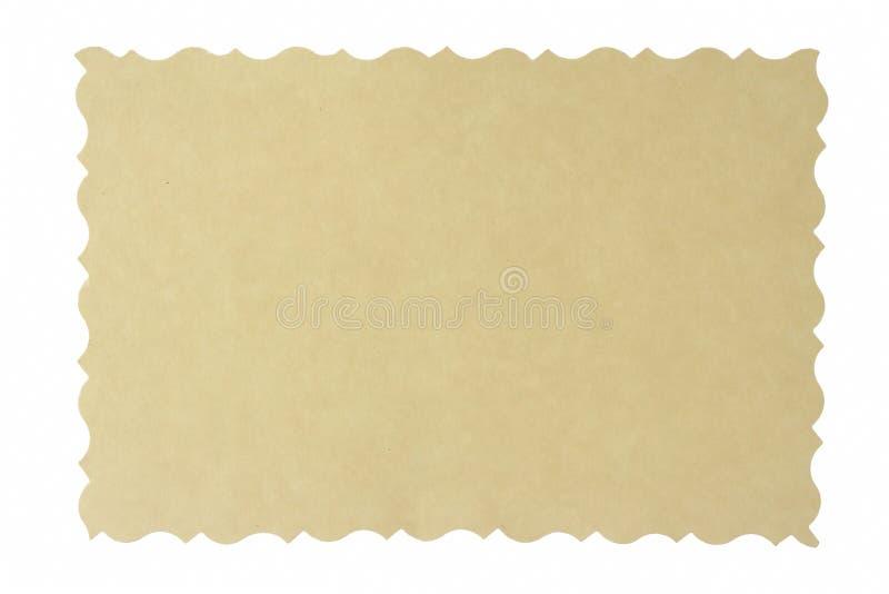 Frontera antigua de la foto imagen de archivo libre de regalías