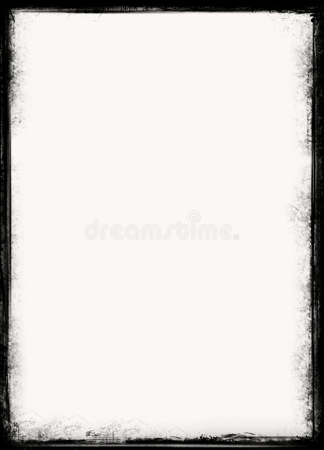Frontera de Grunge fotos de archivo