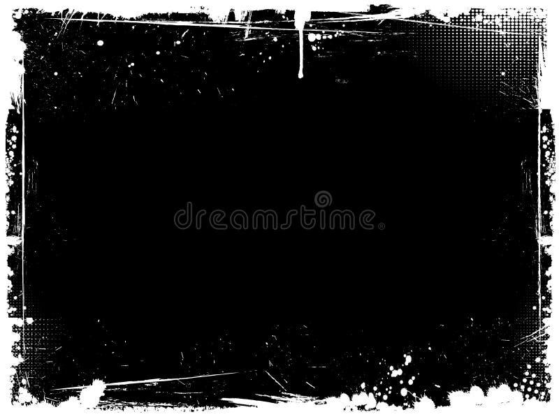 Frontera de Grunge ilustración del vector