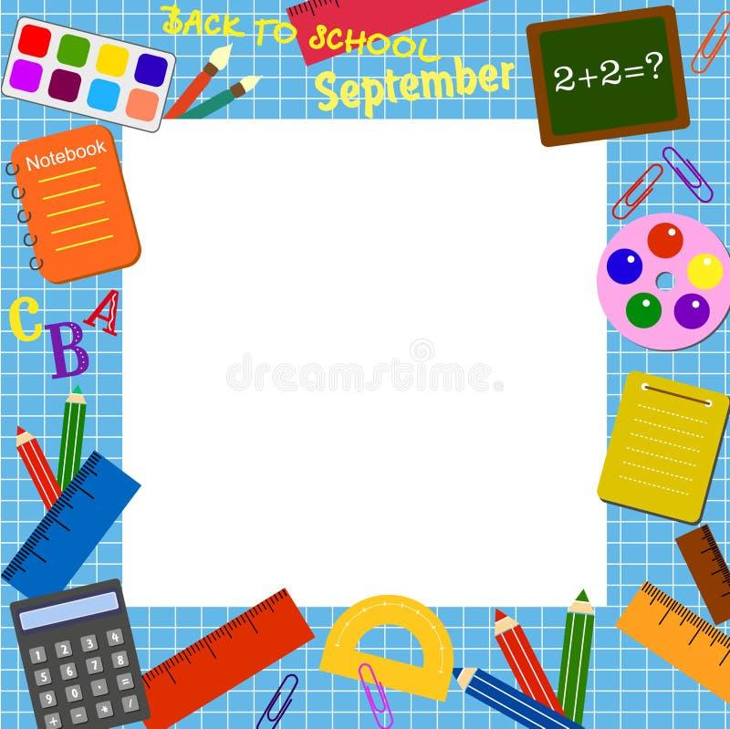 Frontera de la escuela libre illustration