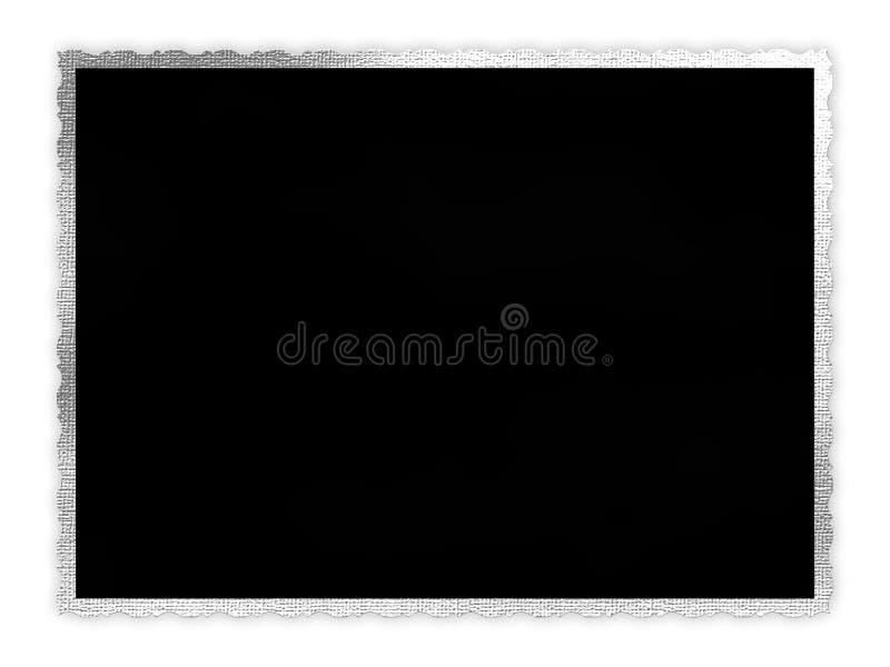 Frontera de la foto stock de ilustración
