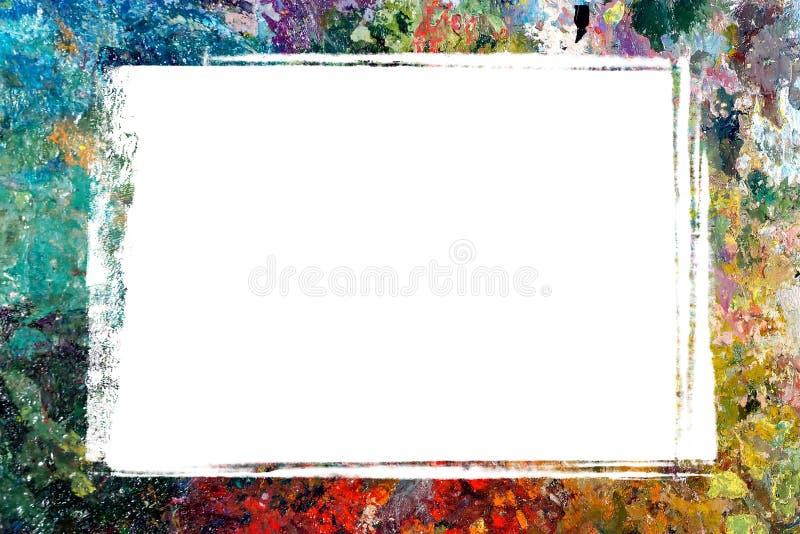 Frontera de la gama de colores imagen de archivo libre de regalías