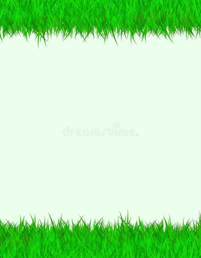 Frontera de la hierba libre illustration