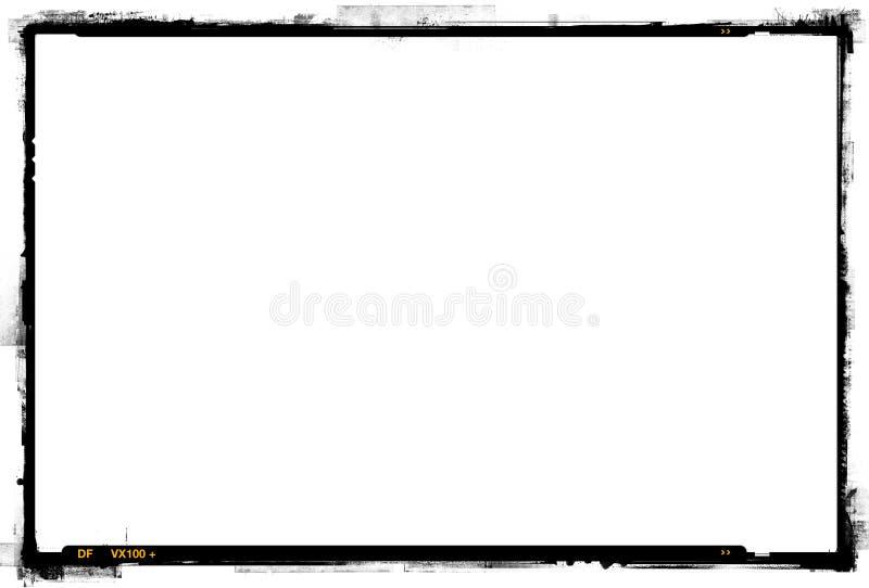 frontera de la impresión de 35m m fotografía de archivo libre de regalías