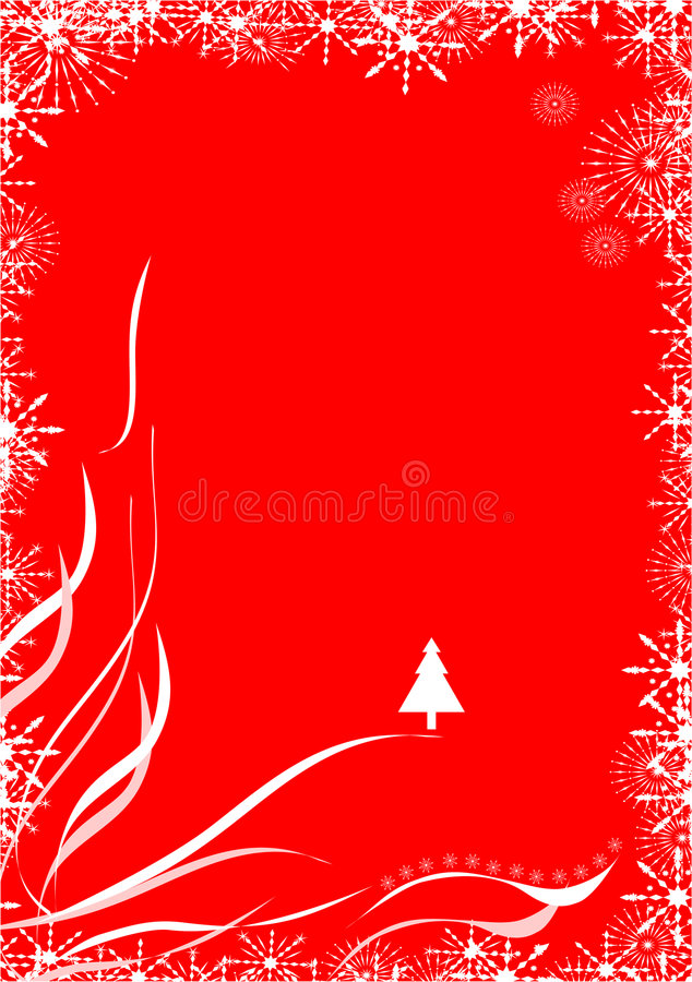 Frontera de la Navidad libre illustration