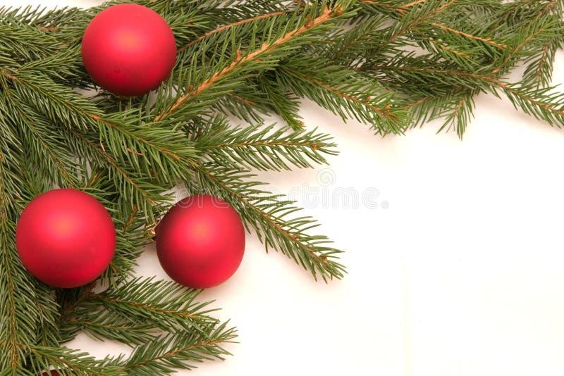 Frontera de la Navidad foto de archivo