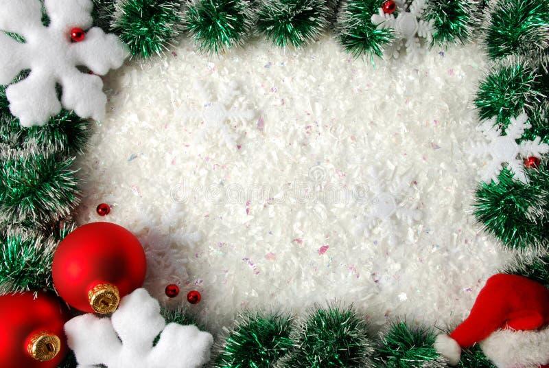Download Frontera de la Navidad foto de archivo. Imagen de celebración - 7283626