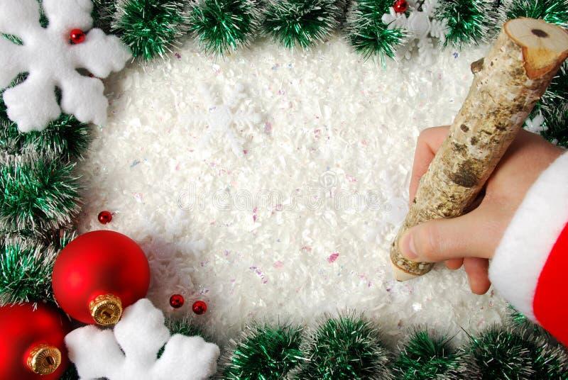 Download Frontera de la Navidad imagen de archivo. Imagen de víspera - 7283837