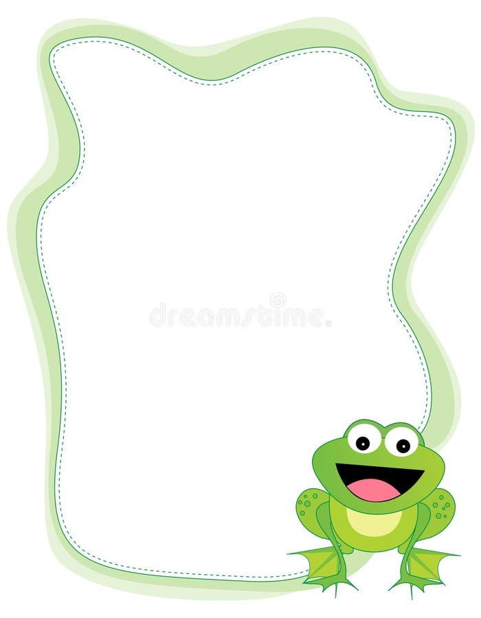 Frontera de la rana libre illustration