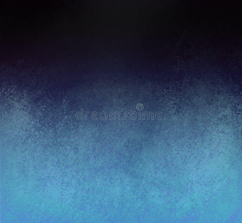 Frontera de la textura del fondo del negro azul imágenes de archivo libres de regalías