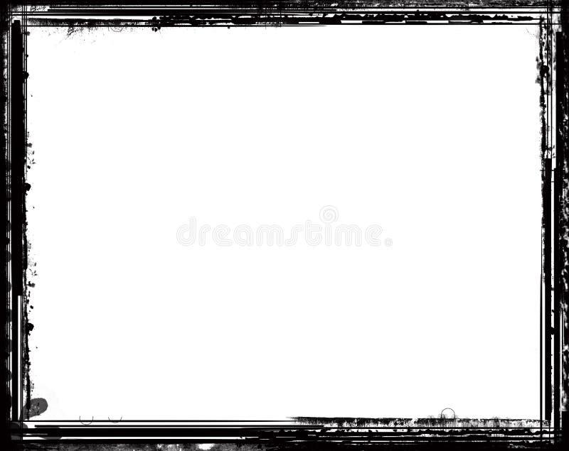 Frontera de la vendimia ilustración del vector