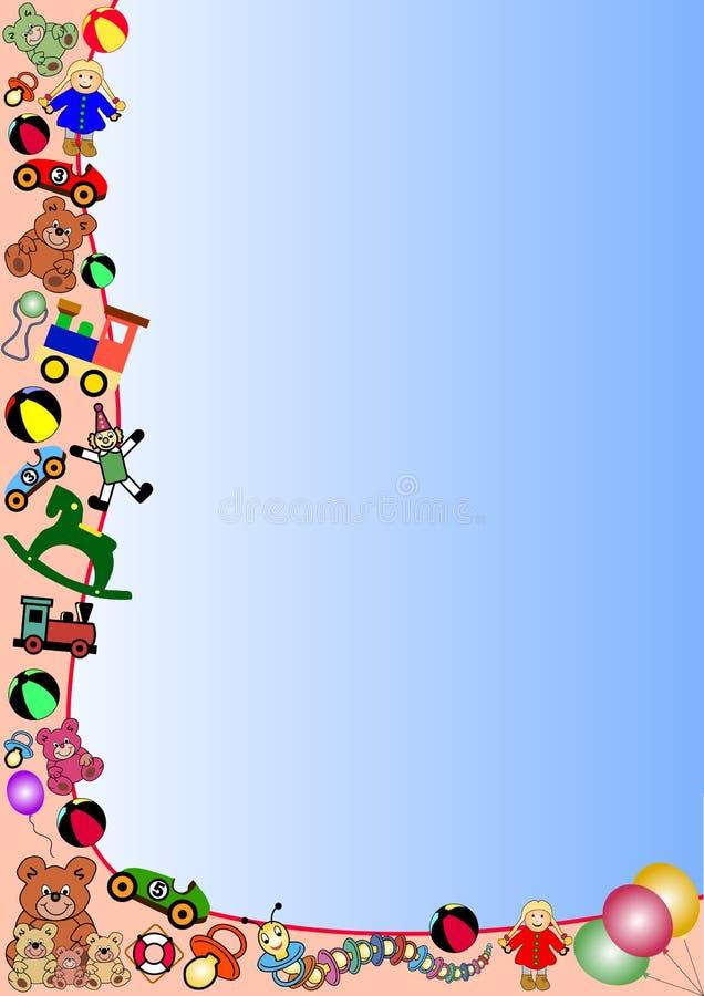 Frontera de los juguetes libre illustration