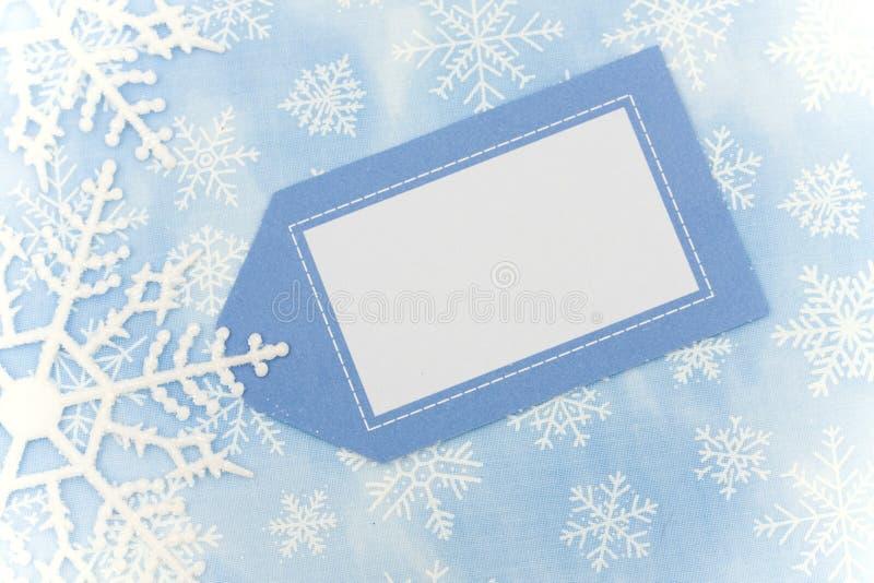 Frontera del copo de nieve fotos de archivo