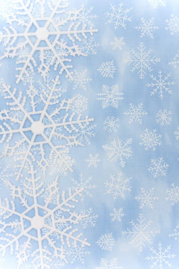 Frontera del copo de nieve fotos de archivo libres de regalías