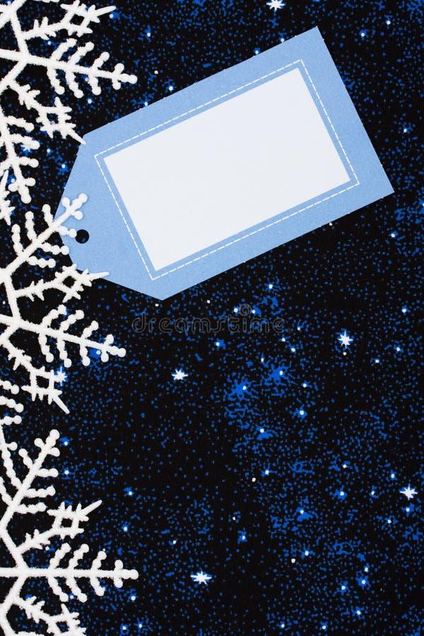 Frontera del copo de nieve imagenes de archivo