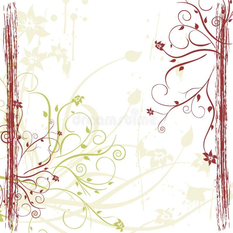 Frontera del ornamento stock de ilustración