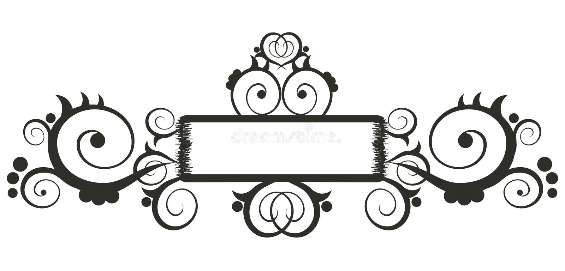 Download Frontera floral ilustración del vector. Ilustración de elemento - 1294858