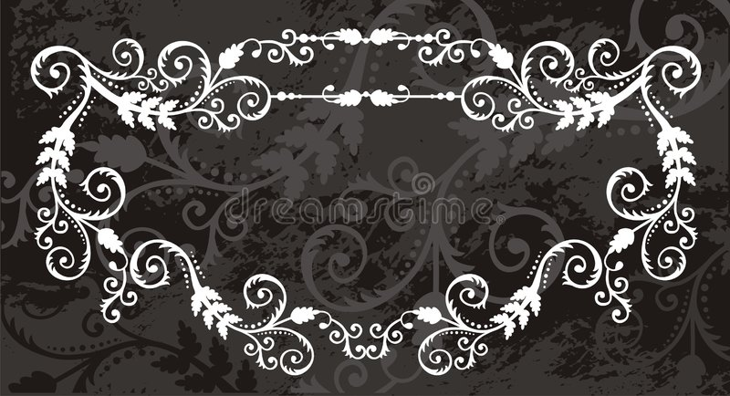 Frontera floral del marco libre illustration