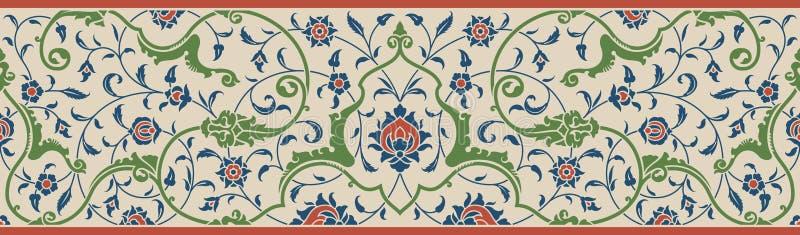 Download Frontera floral una ilustración del vector. Ilustración de islam - 64207340