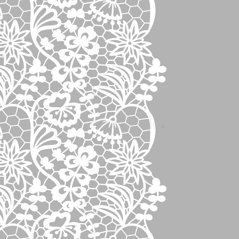 Frontera inconsútil del cordón Tarjeta _1 de la invitación libre illustration