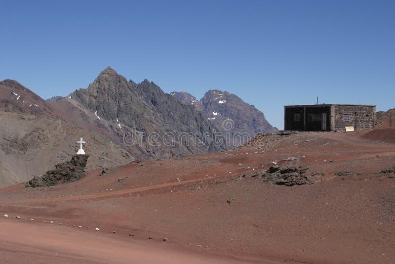 Frontera la Argentina - Chile imagenes de archivo