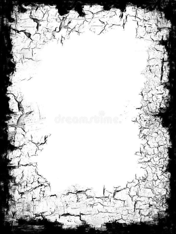 Frontera negra del marco stock de ilustración. Ilustración de ...