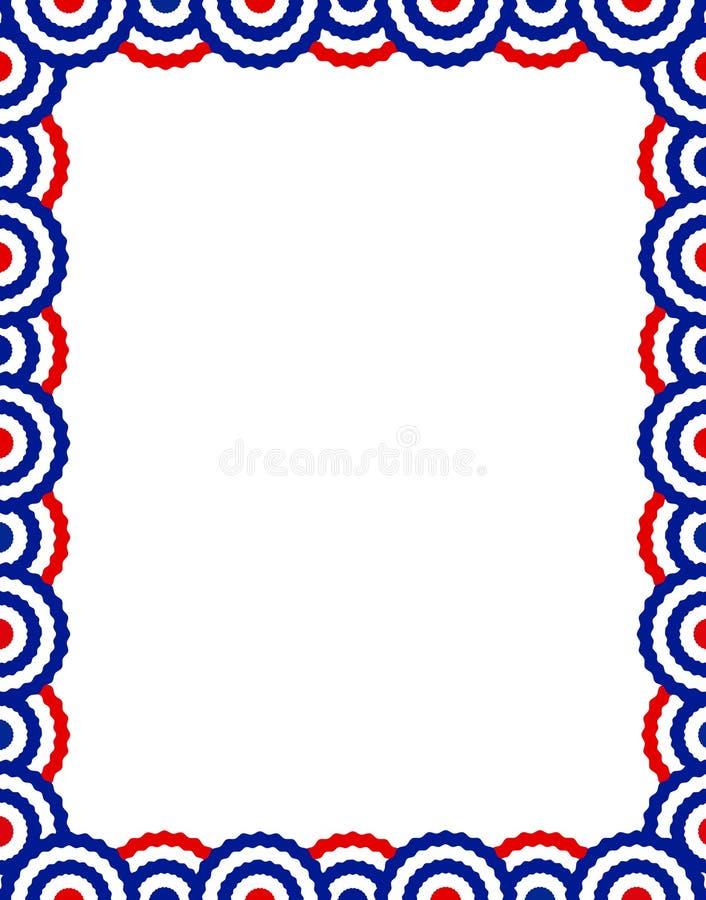 Frontera patriótica libre illustration