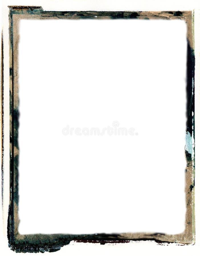 Frontera polaroid de la transferencia ilustración del vector