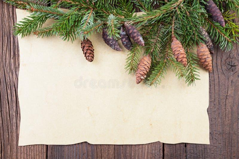 Frontera tradicional de la Navidad foto de archivo libre de regalías