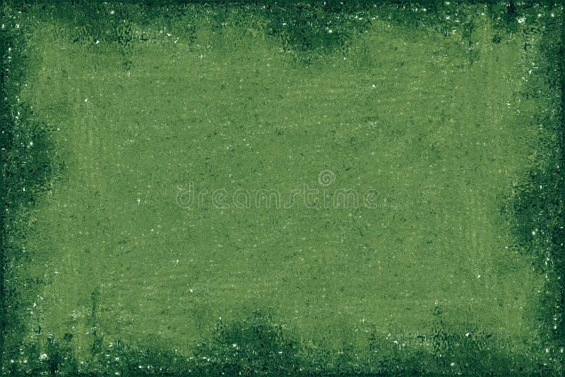 Frontera verde stock de ilustración
