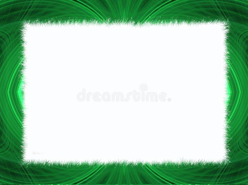 Download Frontera Verde Del Fractal Con El Espacio Blanco De La Copia Stock de ilustración - Imagen: 10220734