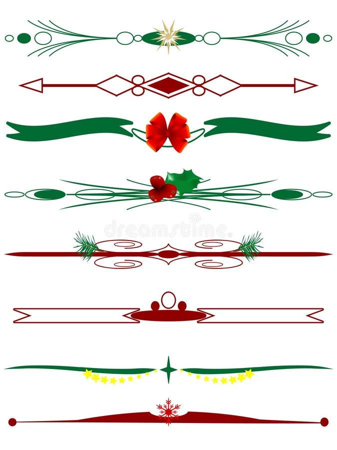 Fronteras de la Navidad libre illustration