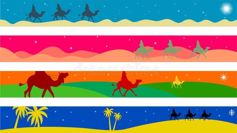 Fronteras de Wisemen libre illustration