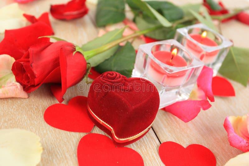 Fleur de Saint-Valentin images stock