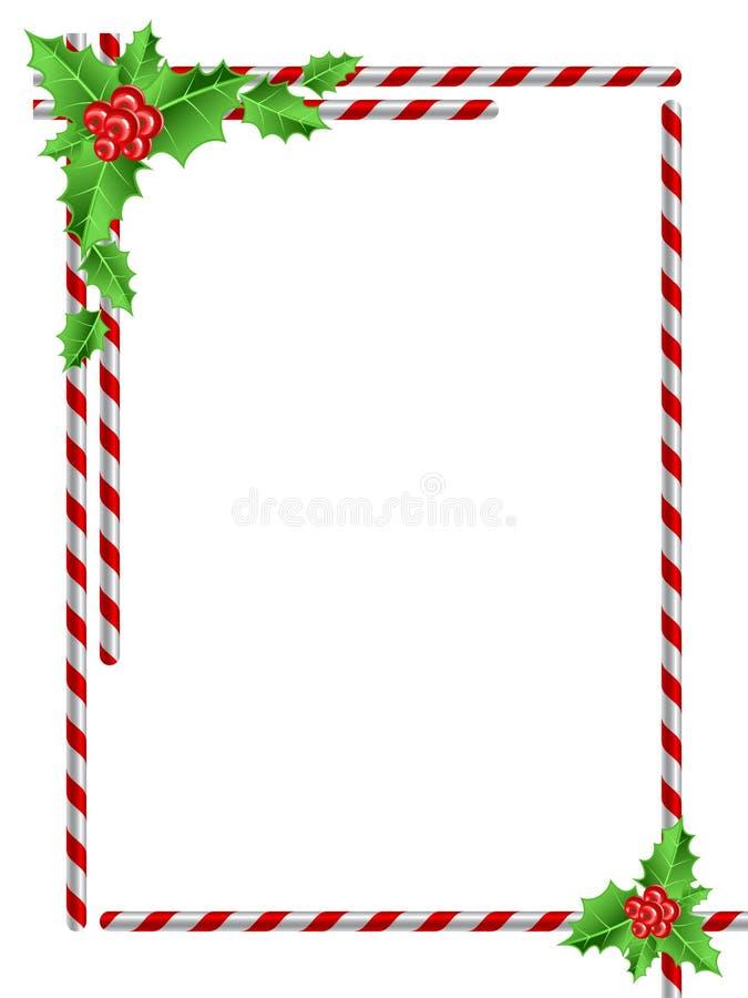Frontière de Noël illustration libre de droits