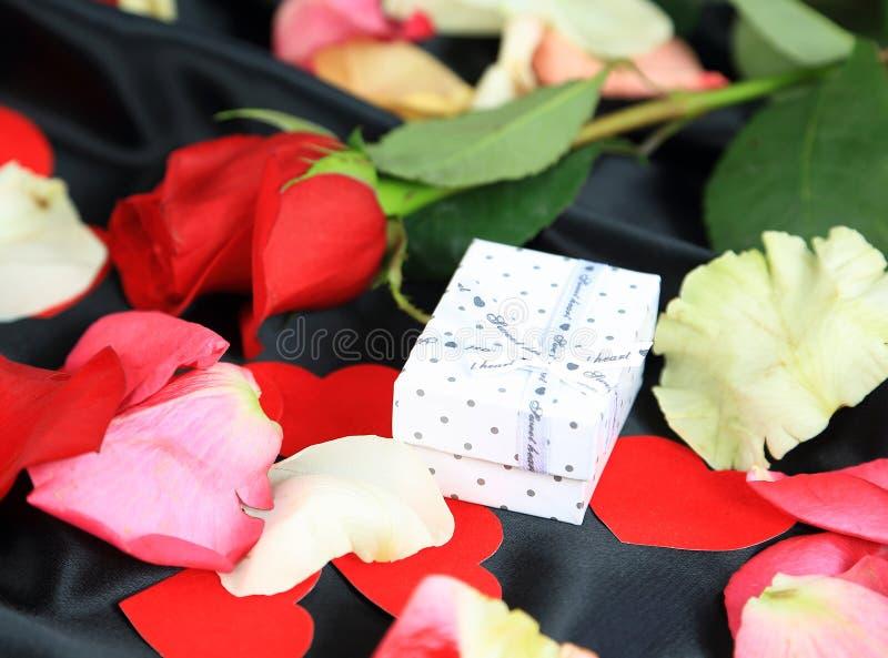 Amour romantique de Saint-Valentin image libre de droits