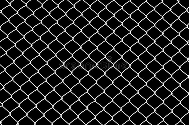 Frontière de sécurité de Chainlink images libres de droits