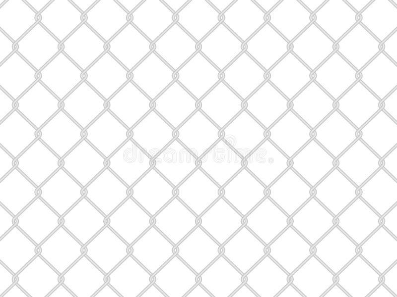 Frontière de sécurité de fil illustration stock