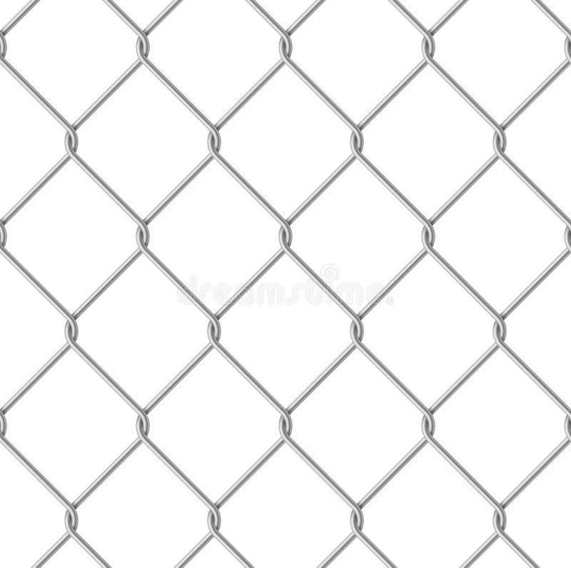Frontière de sécurité de fil illustration de vecteur