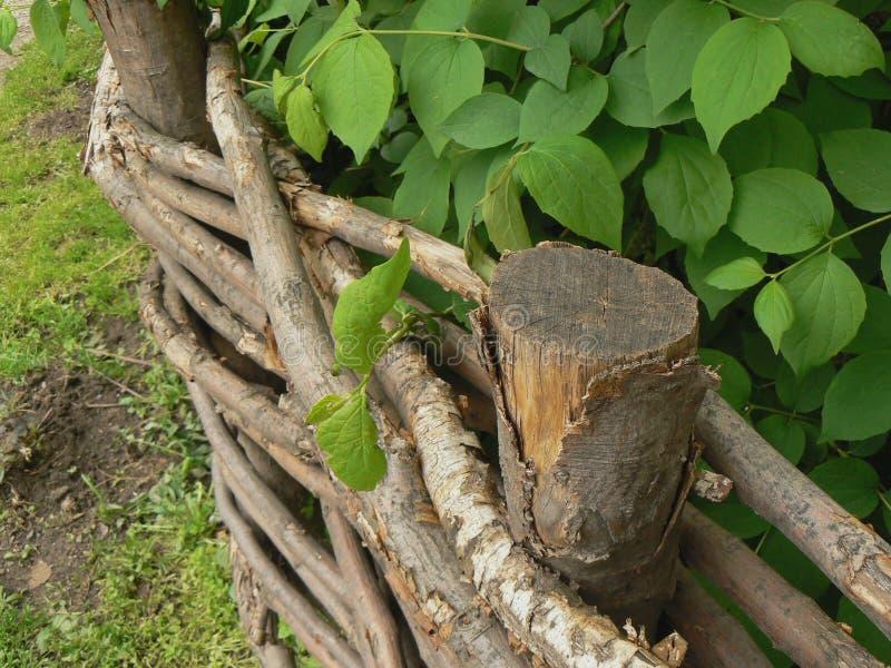 Frontière de sécurité de jardin photographie stock